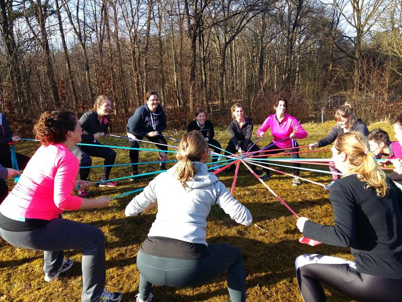 Bootcamp vrouwen