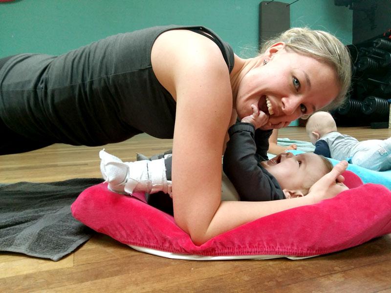 baby & Fit sporten met je kindje