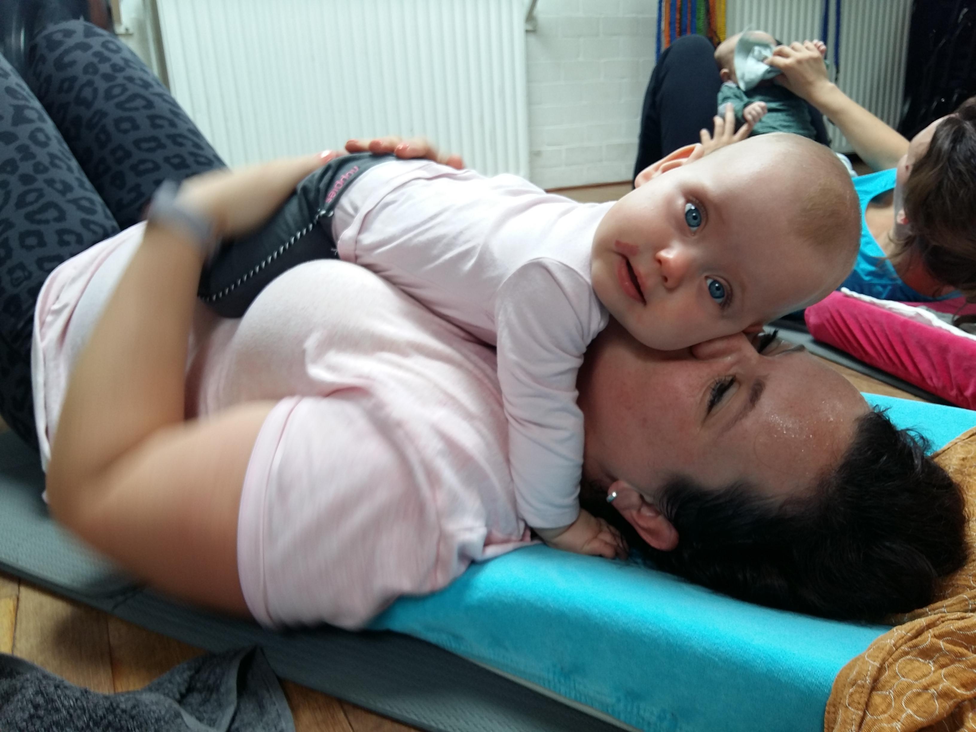 Baby & Fit , sporten met je kindje