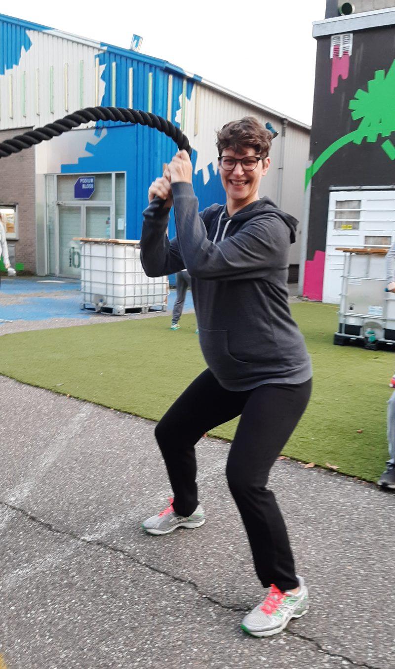 sportieve zwangerschapscursus Breda, coretraining