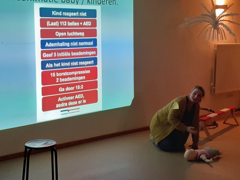 KinderEHBO Reanimatie, Kinder EHBO, Kinderfysiotherapie Breda, Ginneken