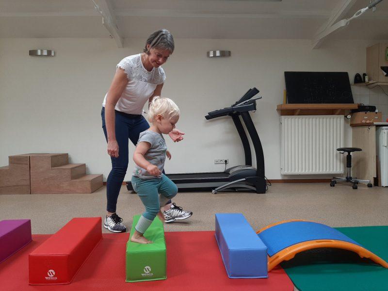 Kinderfysiotherapie Breda, Ginneken Oefeningen voor de grove motoriek , balans